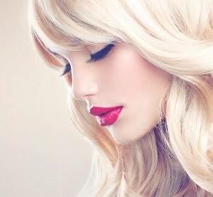 Blond beauty.