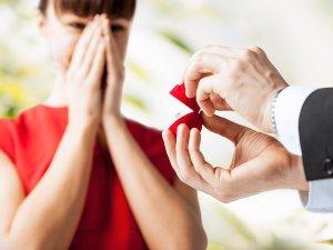 surprise wedding ring.