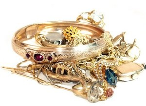 Jewellery collection.