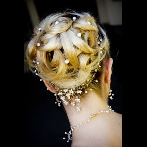 Beautiful hair accessories.
