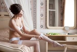 Pre wedding boudoir photography.