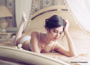 Pre wedding boudoir photography.