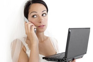 Organising your wedding day.