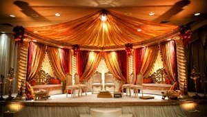 Indian wedding venue.