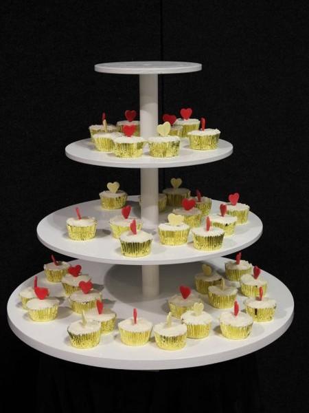 Cup cake display.