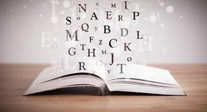 Book of wedding words.